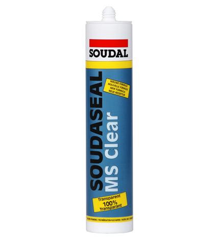דבק שקוף  Soudaseal MS Clear