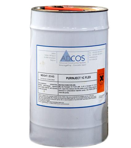 חומר הזרקה פוליאוריטני גמיש  1C FLEX