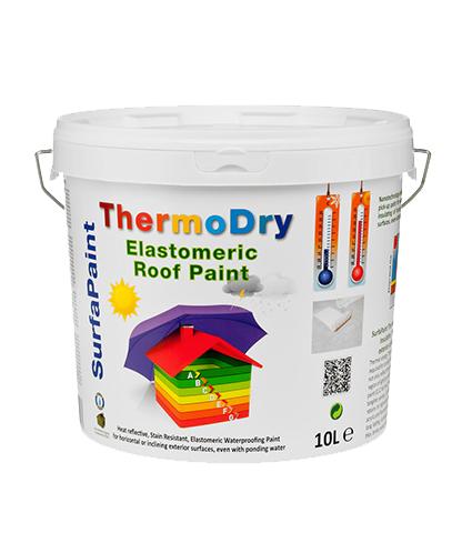 חומר איטום מבודד טרמית ננו טכנולוגיה Surfapaint ThermoDry