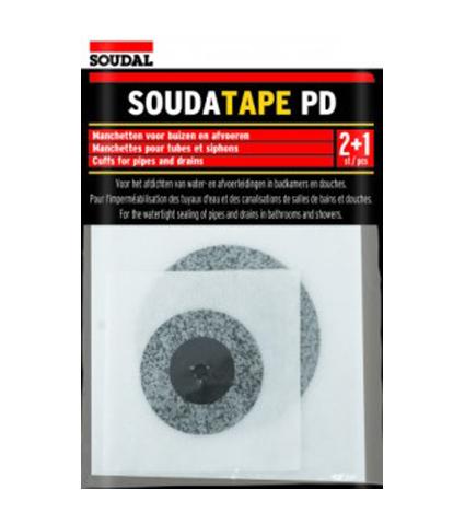 אטם בד לחדרים רטובים – אינטרפוץ  ופתחי ביוב SOUDATAPE PD