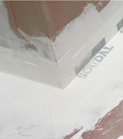 אטם בד פינה חיצונית- חדרים רטובים SOUDATAPE OC
