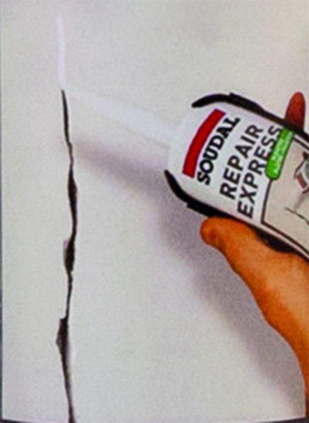חומר למילוי ותיקון סדקים Repair Express